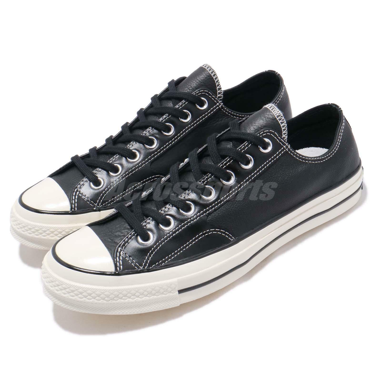 Converse First String Chuck Taylor All Star 70 70 70 OX nero Men donna scarpe 163330C 80058f