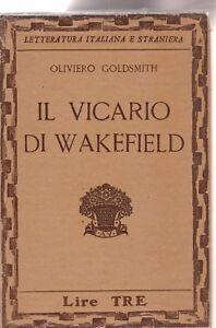 Oliviero-Goldsmith-Il-vicario-di-wakefield-Vallecchi-1931-6334