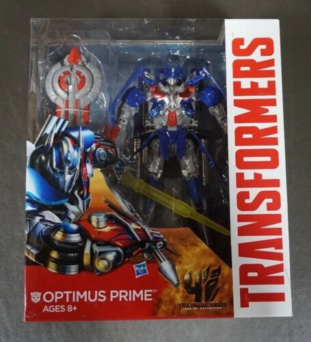 Optimus Prime TRANSFORMERS Generations Age of Extinction Leader Class MIB