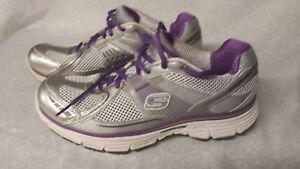 SKECHERS Tone Ups 11752 silver purple