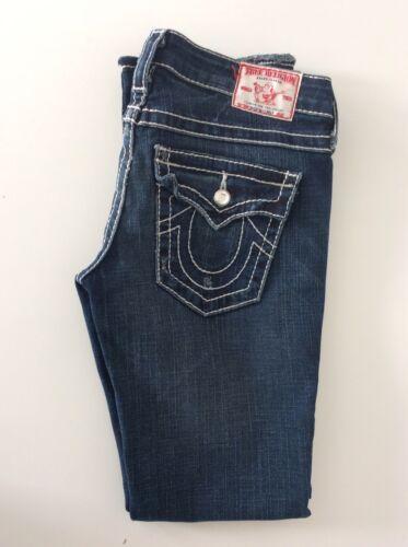 Stretch Slim Distressed Billy Size Disco Blue Jeans T Leg Religion Big True 27 SqZngxw0fq