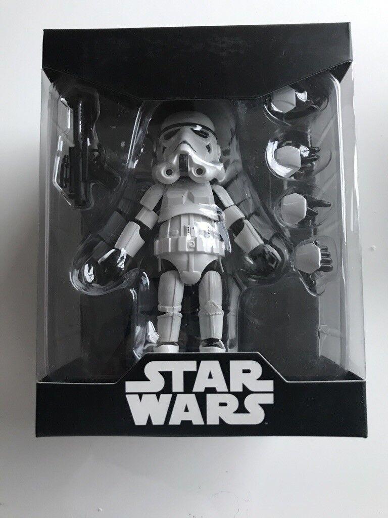 Figura Herocross Hybrid Metal figuración 005 Estrella Wars Stormtrooper Nuevo Nuevo Y En Caja