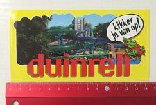 Aufkleber/Sticker: Duinrell - Kikker Je Van Op (01061670)