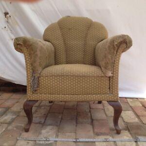 Alter Sessel Im Chippendale Stil Zum Restaurieren Ebay