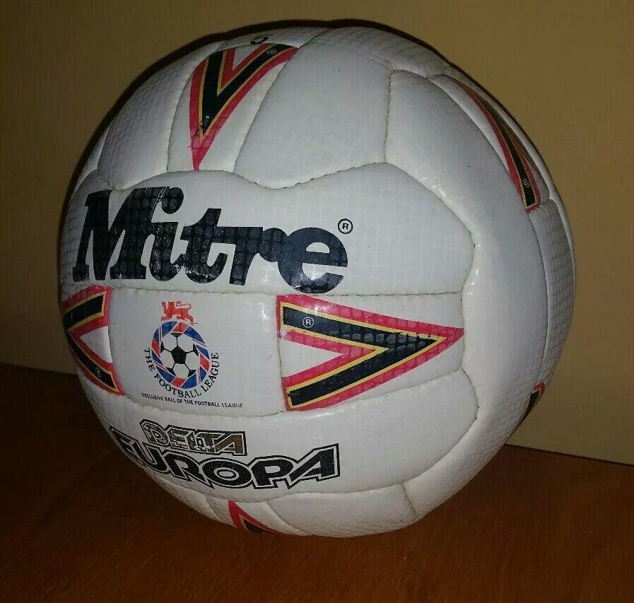 1990 91 Mitre FOOTBALL LEAGUE MATCH USATO A SFERA DELTA EUROPA Portsmouth FC