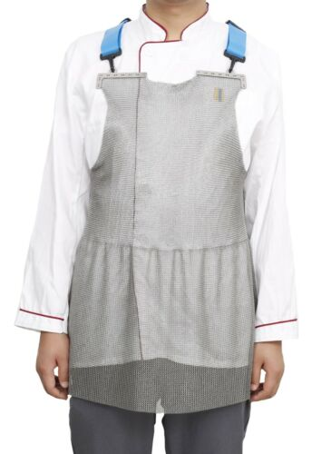 PORTWEST Chainmail Apron Meat Processing Stainless Steel Maximum Protection AC20