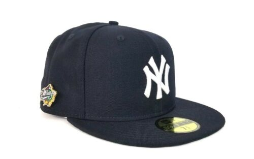 New Era Navy Blue New York Yankees 1998 World Series Pin Fitted hat