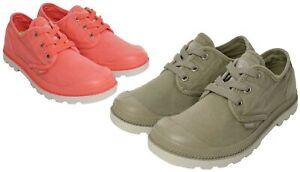 Lp Palladium Oxford Sur Chaussures Baskets Toile Femme Détails Pampa 8wmnN0