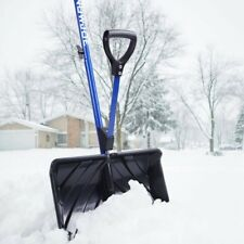 "Snow Joe Shovelution 18"" Strain-Reducing Snow Shovel | Spring Assisted Handle"