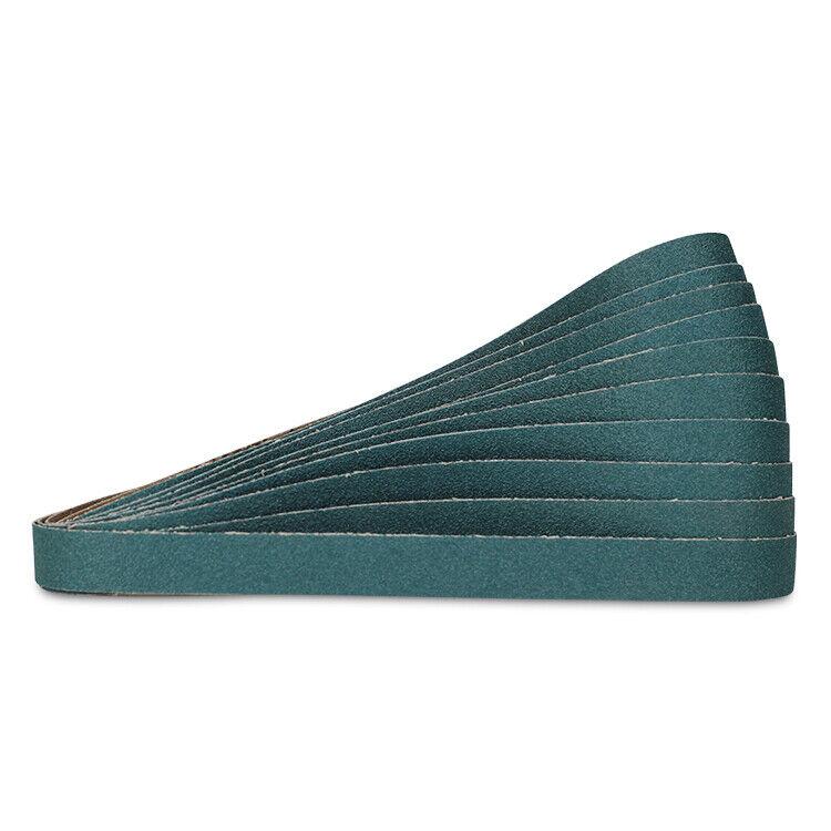Medium 48 Length Coated EA1 Norton Sanding Belt 2 Width Zirconia Alumina 60 Grit R823P BlueFire