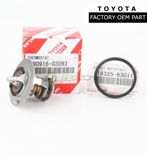 GENUINE TOYOTA SCION LEXUS THERMOSTAT WITH GASKET OEM 90916-03093 16325-63011