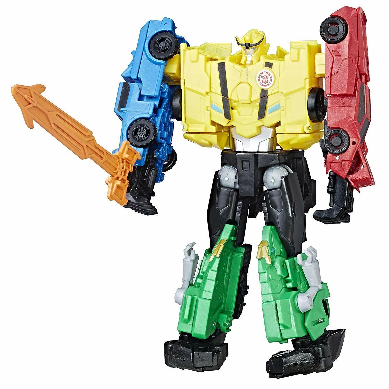 Transformers Robots in Disguise Combinador fuerza del equipo figura de abeja Ultra Nuevo