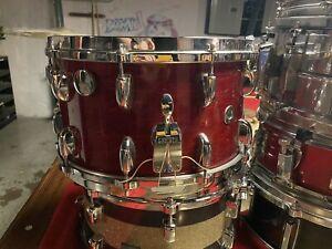 Vintage-Gretsch-Snare-Drum-Cherry-Maple-14x8