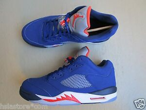 Navy 5 Royal Orange Low v Jordan team Deep Retro knicks mid 5 45 Blue Air Nike RqwUFBU