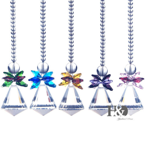 Crystal Suncatcher Prisms Pendant Window Decor Home Decor Hanging Drop Pendulum