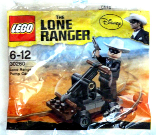Lego polybag ref 30260 the lone ranger/'s pump car new sealed