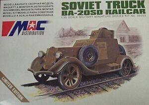 MAC-Models-1-35-BA-20SD-Soviet-Railcar-Truck-35003