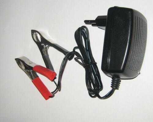 Strong Auatic Charger for 6volt Lead Batteries to 12ah 1,2a 1200ma 6v Perego
