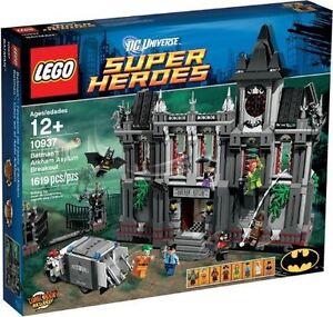 Lego Super Heroes Batman ™: évasion et asile d'Arkham 10937