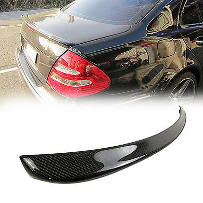 Carbon Fiber Mercedes Benz W211 Sedan A Type Boot Trunk Spoiler E320 E350