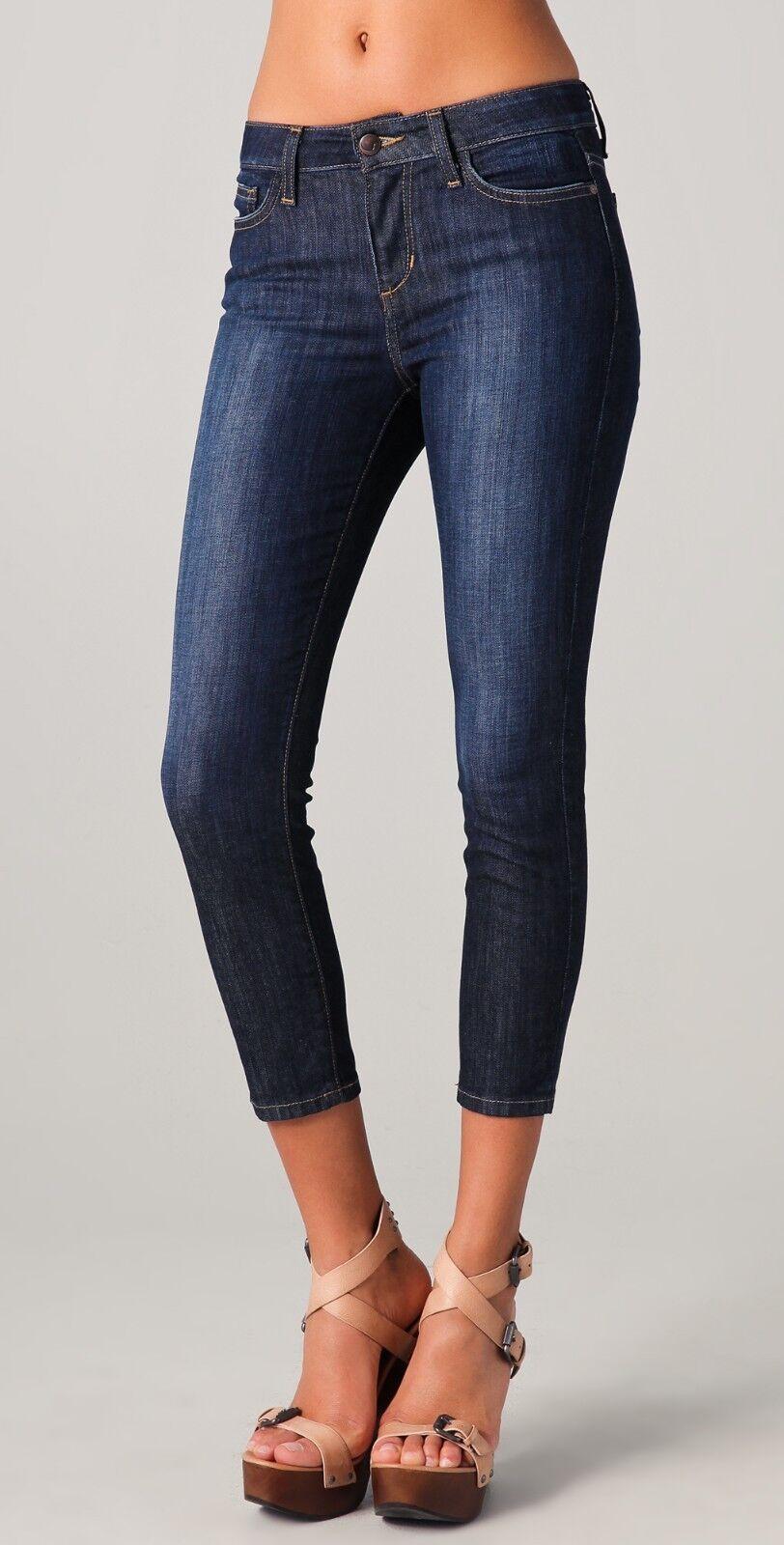 Nouve165 Joe& 039;s Jeans Cropped Skinny Denim Jeans Mona délavé Größe 31