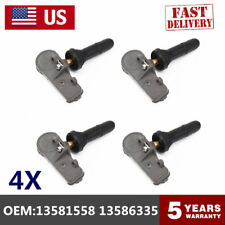 4x 13581558 13586335 Fit for OEM TPMS Tire Pressure Sensor Monitoring System
