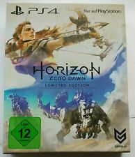 Horizon Zero Dawn Limited Edition Steelbook + Artbook PS4 Playstation 4 NEU NEW