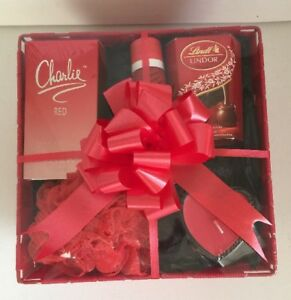 Image Is Loading Valentine Birthday Gift Basket Hamper For Her Ladies