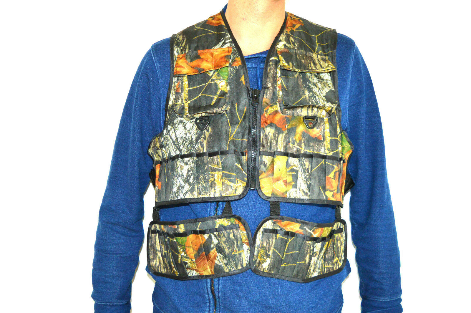Hunting Vest Hunting Camoflauge, Camping, Outdoor with Cartridge Holder