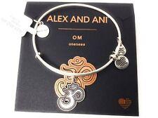 Alex And Ani Om Ii Bangle Bracelet Rafaelian Silver Nwtbc