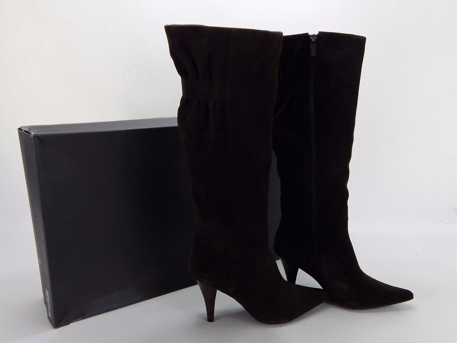 New Women's Kenneth Cole Brown Suede  Knee High  Go for it  Boots Size 6.5 M