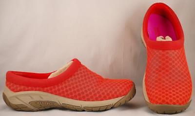 Clothing, Shoes & Accessories Women's Shoes Women's Merrell Lychee Orange Mesh Sport Mules Us 7.5 Uk 5 Eur 38
