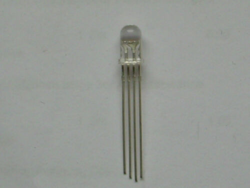 -Pol 20 Stück Led 5mm 3-Chip RGB Rot-Grün-Blau //steuerbar// gemeinsame Kathode
