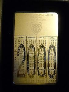 Atleti Calendario.Dettagli Su Piastra In Metallo Calendario 2000 3 Reparto Speciale Atleti Bologna