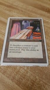 Magic MTG the Gathering Card CHRONICLES - Ashnod's Altar - NM