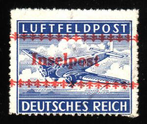 1944-Dt-Reich-Field-Post-Island-Kreta-Mi-Nr-7-B-overprint-INSELPOST-unused