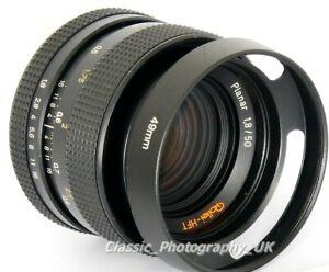 100% De Qualité 49 Mm Ventilé Lens Hood For Rollei-hft Planar 1.8/50 Flektogon 35 Mm Oreston 1.8/50-afficher Le Titre D'origine AgréAble En ArrièRe-GoûT