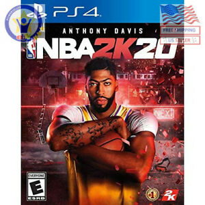 NBA-2K20-Sony-PlayStation-4-2019-PS4-Brand-New-Factory-Sealed