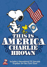 This Is America, Charlie Brown - Collectors Set (DVD, 2014, 2-Disc Set) NEW