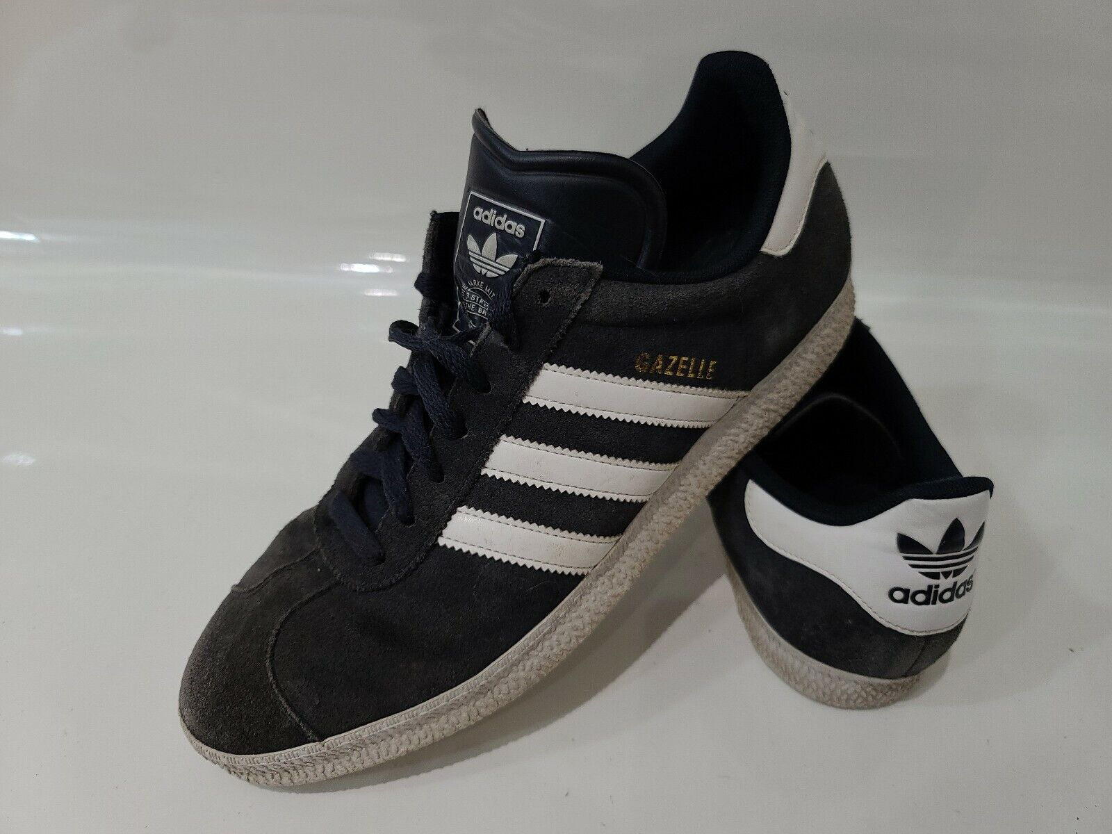 Size 10 - adidas Gazelle 2 Blue - Q23101 for sale online   eBay