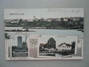 Ansichtskarte Apfeldorf am Lech 1906 Total Rauhenlechsberg