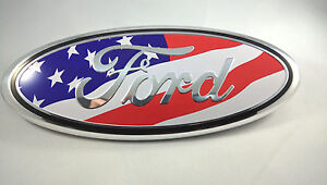 Image Is Loading   American Flag Ford Edge F