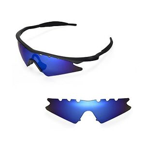 New Wl Polarized Ice Blue Vented Replacement Lenses For