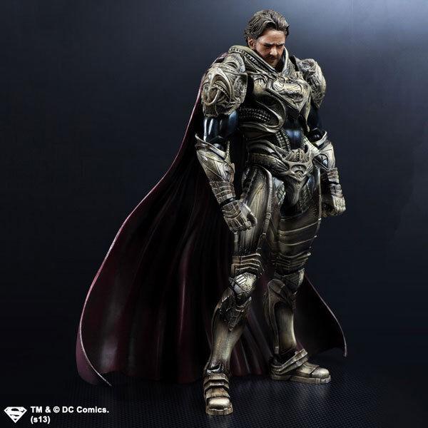 Play Arts Kai Man of Steel Jor-El Action Figure NEW & MISB AUTHENTIC Superman