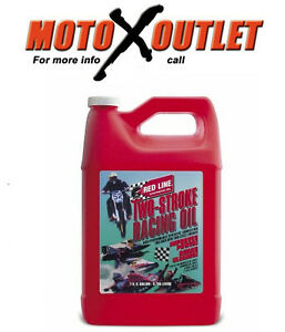 Details About Red Line Two Stroke Oil 2 Cycle Racing Synthetic Gallon