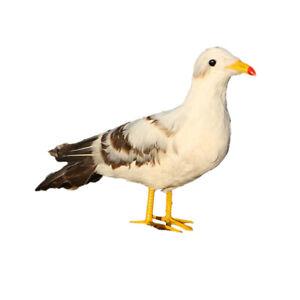 Artificial-Bird-Feathered-Realistic-Seagull-Garden-Tree-Decor-Ornament-2