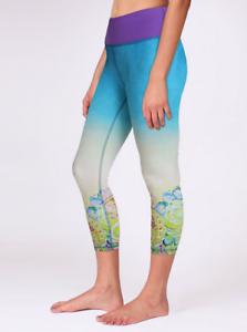 Anjali-Arya-Capri-Ombrey-Paisley-Leggings-Women-039-s-Size-Large-New-With-Tags