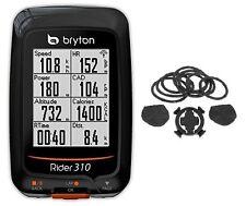 Bryton Rider 310E GPS Cycling Computer + Bike mount