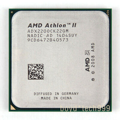 AMD Athlon II X2 220 X2-220 2.8GHz Dual-Core CPU Processor ADX220OCK22GM Socket AM3 938pin