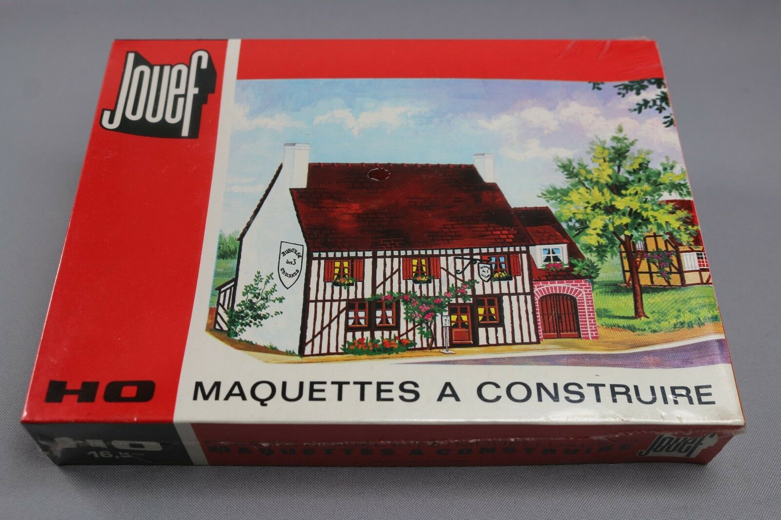 Z195 Jouef 1975 maquette train Ho 1:87 auberge normande decor diorama maison kit